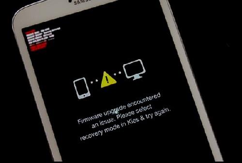 دانلود آموزش حل مشکل Firmware upgrade encountered issue گوشی های سامسونگ در حین فلش با لینک مستقیم